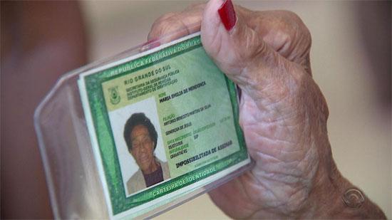 Carteira de Identidade RS