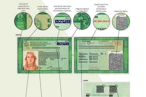 Nova Carteira de Identidade como tirar