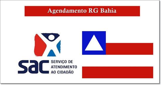 SAC agendamento RG